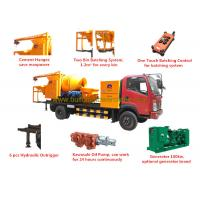 China ISO/CE/BV/ROHS Concrete Mixer Pump Truck 8Mpa Outlet Pressure 100kw Generator wholesale