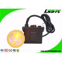 China 11.2Ah Rechargeable Safety Mining Cap Lights 50000lux Waterproof IP67 wholesale