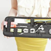 Black Cocoon Grid It Organiser , Car Visor Organizer For Travel