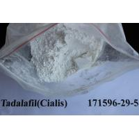 Quality No Side Effects Tadalafil / Cialis CAS 171596-29-5 Male Sex Powders High Purity for sale