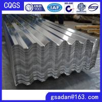 China aluminium corrugated sheets for roofing on sale