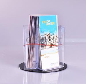 China Deflect-o Acrylic Rotating Literature Holder wholesale