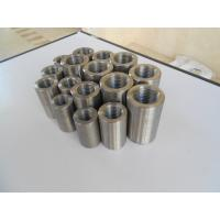 Wholesale High Strength Custom Threaded Rebar Coupler , Steel Sleeves Reinforcing Bar Couplers from china suppliers