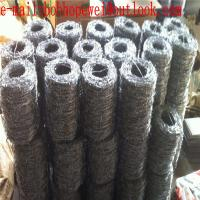 Buy cheap galvanized Barbed Wire Price per roll/barbed wire price/zinc coated 60g/m2 hot-dipped galvanized barbed wire fence from wholesalers