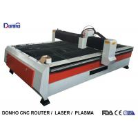 China Heavy Duty Structure CNC Plasma Cutting Machine With Chuangwei Stepper Motor wholesale