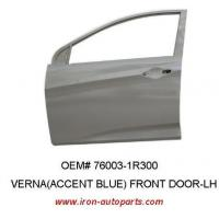 China Hyundai Verna Korean Auto Body Parts Auto Front Left Door Replacement wholesale