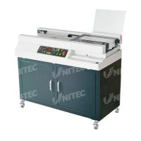 China Automatic Glue Soft Cover Book Binding Machine Small Milling Blade Included W5500 wholesale