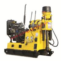 Buy cheap 76hp Diesel Engine 600m Core Drill Rig / Water Well Drilling Machine from wholesalers