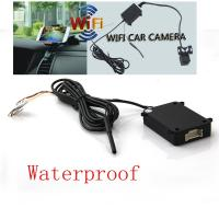 China Black Mini WiFi Backup Camera 170 Degree IP66 For Android System wholesale