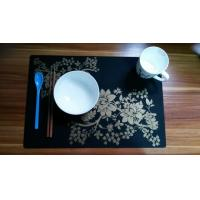 China Flexible Place Mat Personalised Printed Silicone Matting With LFGB wholesale