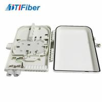 China 16 Ports FTTH Optical Fiber Distribution Box LC/SC Connectors Light Weight Wall Mounted wholesale