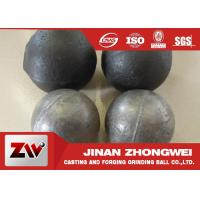 China Cement plant use  forged and low chrome cast grinding ball/ steel grinding balls wholesale