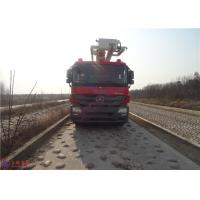 China Water Capacity 4800kg Water Tower Fire Truck Max Loading 23700Kg With With Fully Hydraulic Drive wholesale