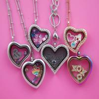 China Stainless Steel Floating Charms Lockets Wholesale Glass Memory Locket wholesale