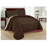 Buy cheap Skin Friendly Bed Spread Sets 100 Polyester Bedspread For Home from wholesalers