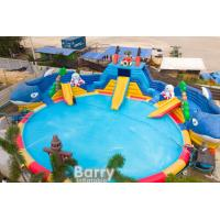 China Commercial Inflatable Water Park Playground Commercial Water Park With Blower on sale