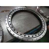 China fork lift hoist slewing bearing, slewing ring for fork lift hoist, crane swing bearing manufacturer on sale