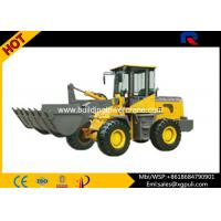 Quality 3050mm Compact Wheel Loader 28km/H High Speed With Suspension Shock Absorber for sale