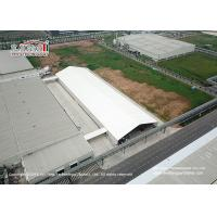 China 2000sqm Waterproof PVC Structure Industrial Storage Tents For Outdoor Warehouse wholesale
