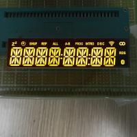 China Super Bright Yellow Custom LED Segment Display 8 Digit Low Power Consumtion wholesale