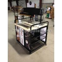 China Movable Retail Single Sided Gondola Shelving For Display Coffee Maker wholesale