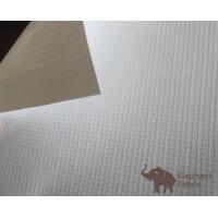 China Glossy Polypropylene Banner Material  Microporous Water Resistant , 0.35mm Thickness wholesale