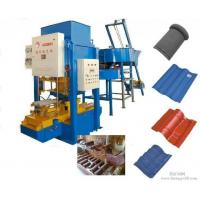 China Cement Tiles Making Machine , Fully Automatic Color Concrete Roof Tile Making Machine wholesale