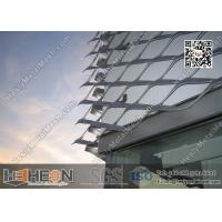 China Aluminium Expanded Metal For Building Facade wholesale