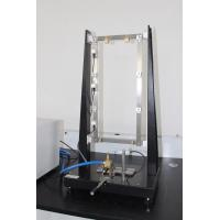 Flame Test Equipment For Automobile Wire , Black / White Flammability Test Apparatus