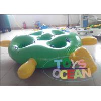 China Green / White PVC Inflatable Sport Game Tortoise Competition Sport For Team wholesale