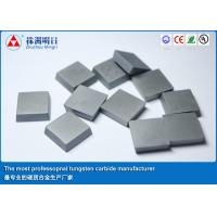 China Carbide Tool Inserts Cemented brazing carbide inserts for stainless steel on sale