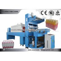 China 20 Kw Plastic Shrink Film Bottle Packing Machine , Stretch Wrapping Equipment wholesale