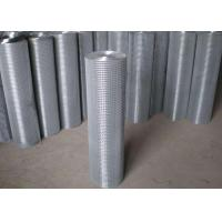 China Thin Welded Wire Cloth Roll Type , Galvanized Stainless Steel Weld Mesh wholesale