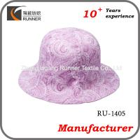 China Ladies fashion sun protection hat wholesale