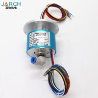 China Military Electro Pneumatic Rotary Union 5A Rotary Joint Slip Ring with 6 circuits wholesale