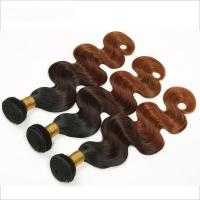 China 1b/4/30 Grade 7A Ombre Hair Weave 10-30 Thick And Full Hair Ends on sale
