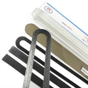 China Aohong Transparent Boiler parts 118*24*21mm Aluminosilicate sight glass wholesale