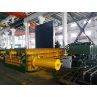 China 315 Tons Baling Force Cuboid Block , Cylinder Scrap Metal Pressing machine wholesale
