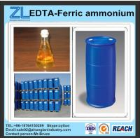 China reddish brown liquid EDTA-Ferric ammonium wholesale