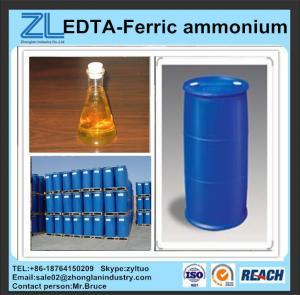 China reddish brown liquid EDTA-Ferric ammonium wholesale