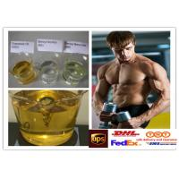 China Semi Finished Yellow Steroid Liquid Oil Trenbolone Enanthate For Muscle Building wholesale