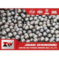 China Forged And Cast Grinding Balls For Mining / grinding media steel balls wholesale