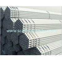 China Good quality building engineering use Q235 scaffolding pipe, galvanized scaffold tube 48.3mm O.D BS1139, BS1387 6000mm L on sale