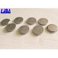 China Flahlights Equipment High Capacity Coin Cell Battery , High Drain 3v Battery Cr2032 wholesale