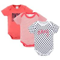 China Custom 3 Pack Baby Summer Clothes / Cotton Short Sleeve Bodysuit wholesale