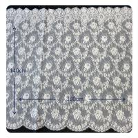 China AEO FREE  Floral Chantilly 100% Nylon Lace Fabric For All Kinds Of Garment wholesale