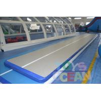 China PVC Customized Gymnastics Air Track Inflatable Air Tumble Track For Sports wholesale
