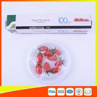 China Plastic Kitchen Wrap Stretch Film Moisture Proof For Fruit Fresh Keeping on sale