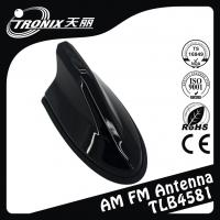 China Simple Design Electric Radio Black Shark Fin Antenna Replacement For Uinversal Car wholesale