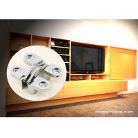 China TV Cabinet Small Soss 180 Degree Cabinet Hinge , Invisible Hinges Cross Hidden Hinge wholesale
